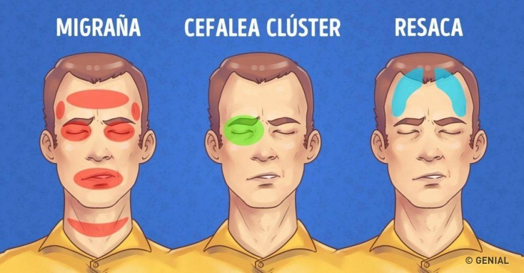 Puedes sentir presión sinusal en tu cabeza